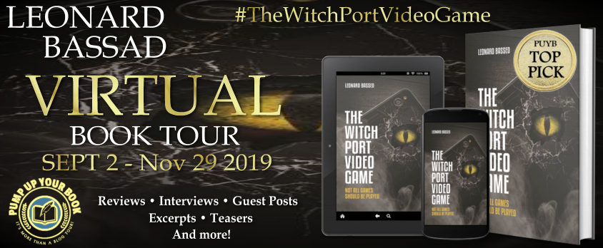 The Witch Port Video Game Book Tour