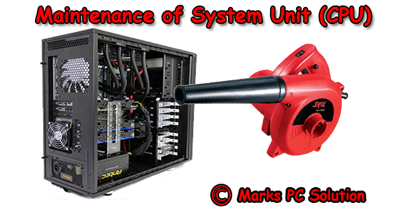 System Unit Maintenance