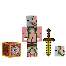 Minecraft Zombie Pigman Comic Maker Series 6 Figure