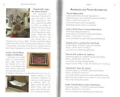 Martin Luther's Travel Guide (WildmooBooks.com)