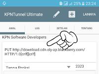 Cara Internet Gratis Menggunakan KPNTunnel Ultimate Terbaru