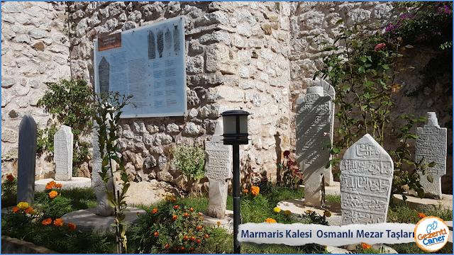 Marmaris-Kalesi-Osmanli-Mezar-Taslari