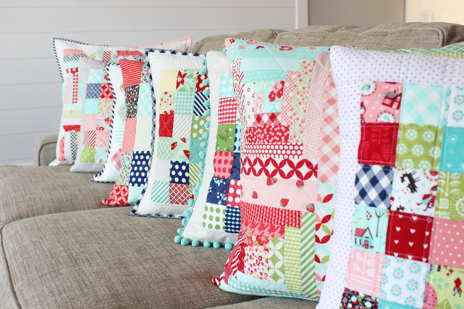 Quilting Patterns For Pillow Covers : Everyday Celebrations: Tutorial: Tips for Perfect Quilted Pillows