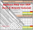 Download Aplikasi PKG dan SKP Guru dan Kepala Sekolah Otomatis 2018 | Galeri Guru