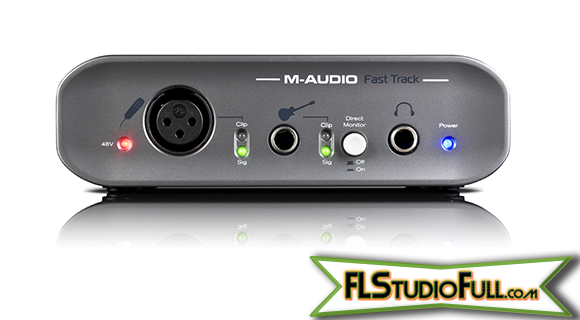M-Audio Fast Track 2 - Interface Para Home-Studio (Frontal)