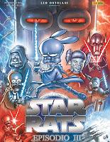 Star Rats - Episodio III:  parodia a fumetti di Guerre Stellari di Leo Ortolani