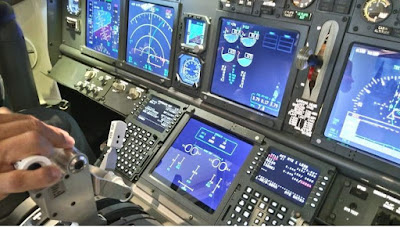 Source: Flightleaders.com website. An aircraft cockpit.