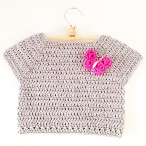Crochet Toddler Shirt - Free pattern