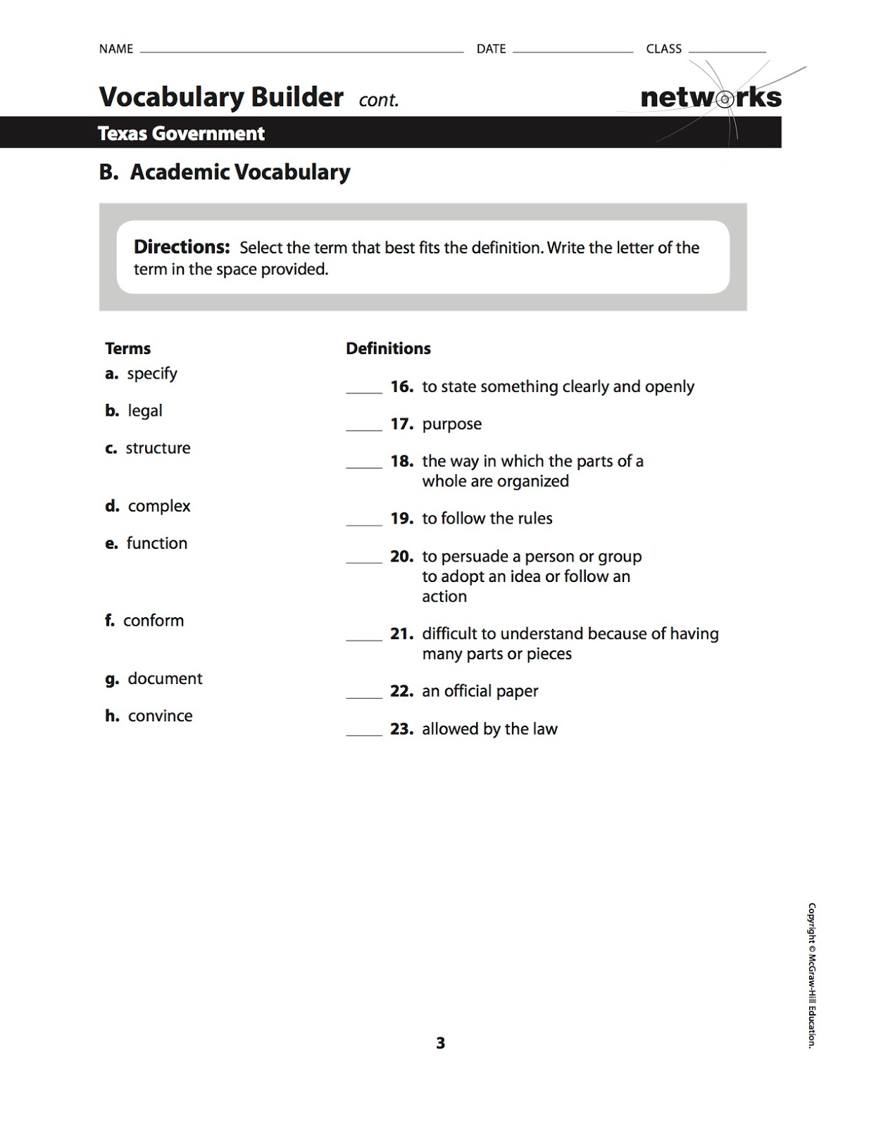 Vocabulary Builder Worksheet Answers vocabulary builder – Vocabulary Builder Worksheets