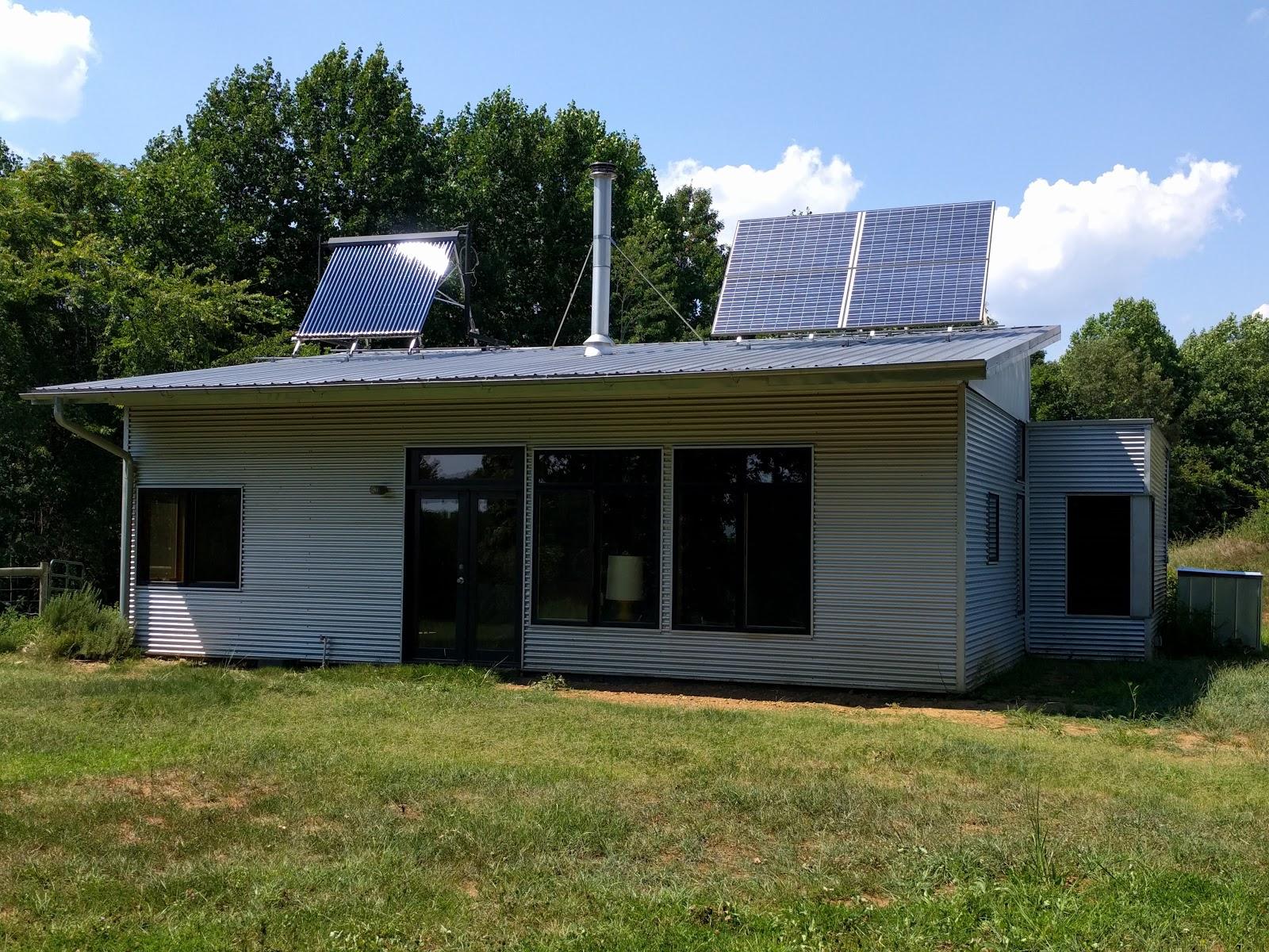 Modern Off Grid Prefab House Enjoys Summer Breeze And Code