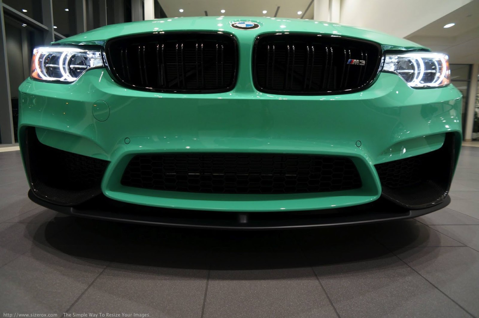 Bmw Individual Mint Green M3 Competition Is A True One Off Carscoops