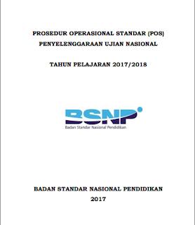 POS UN SMP/MTS/ SMA/SMK/MA Tahun Pelajaran 2017/ 2018