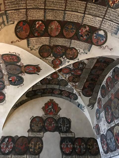 salle des nouveaux registres provinciaux château de Prague