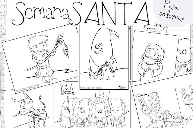 http://www.manualidadesinfantiles.org/dibujos-de-semana-santa