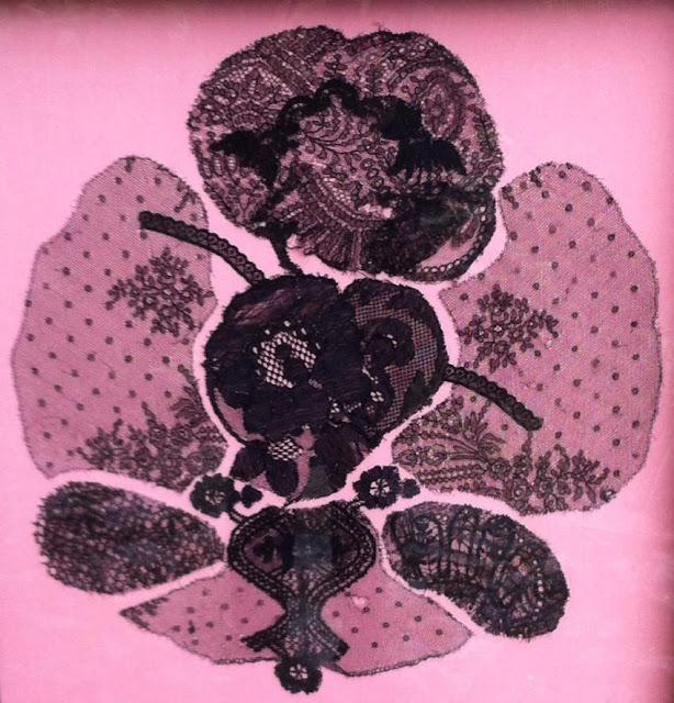 art textile dentelle art contemporain Catherine Herbertz