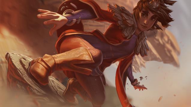 League of Legends Taliyah Wallpaper Engine