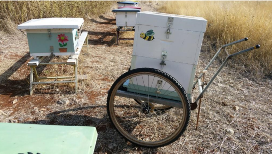 Ο χαμάλης: Μελισσοκομικό καρότσι με ρόδες ποδηλάτου...Αναλυτικές οδηγίες