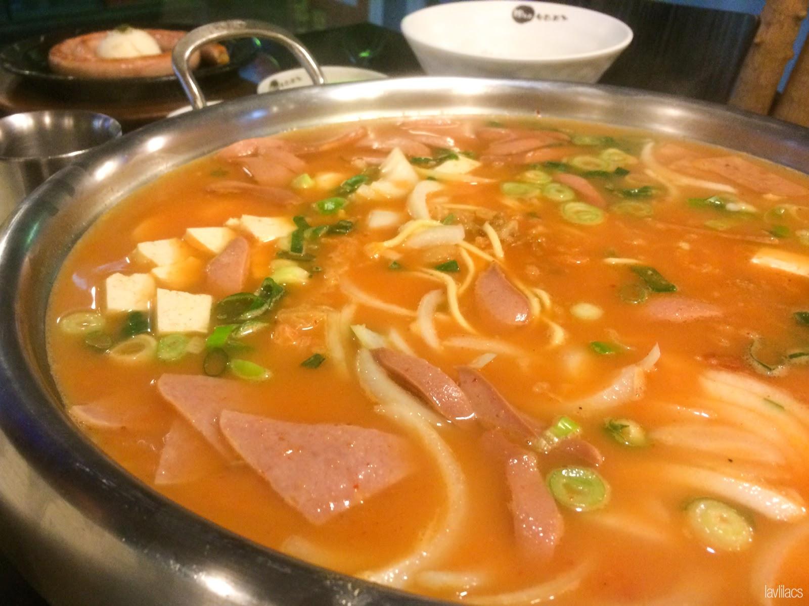 Sinchon, Seoul, Korea - Summer Study Abroad 2014 - Seoul City Touring - 18번지 부대찌개