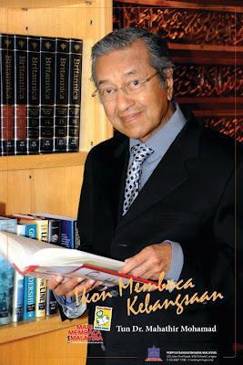 Image result for tun dr mahathir ikon membaca kebangsaan