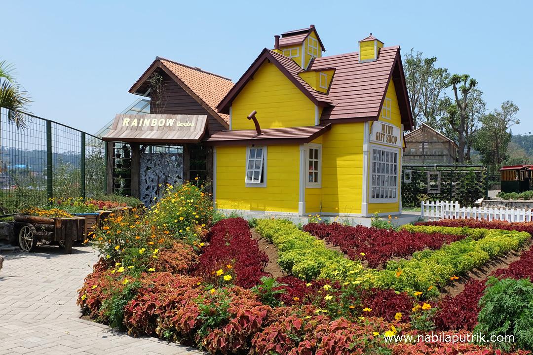 Bunga Cantik yang Bisa Dimakan di Rainbow Garden Lembang ...