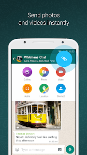 Download WhatsApp Versi Ringan APK for Gingerbead+