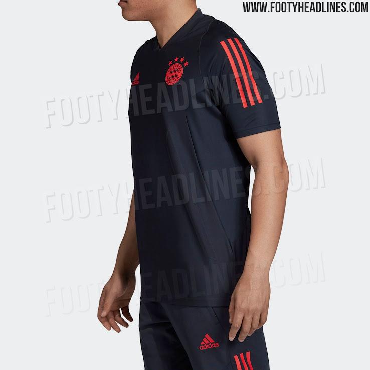 meet b2f21 d2f43 Bayern Munich 19-20 Champions League Training Kit Leaked ...