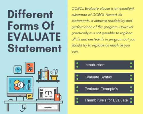Evaluate In COBOL.