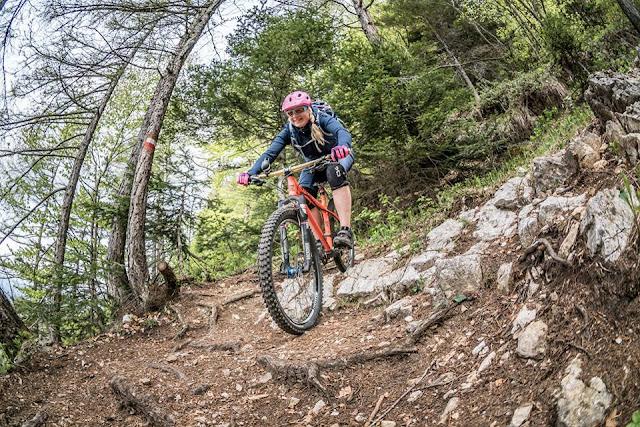 mtb tour track trail gps mountainbike monte marzola trento trient petra zeller