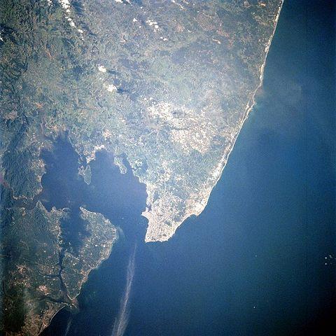 Salvador e Baía de Todos os Santos. Da Wikipédia.