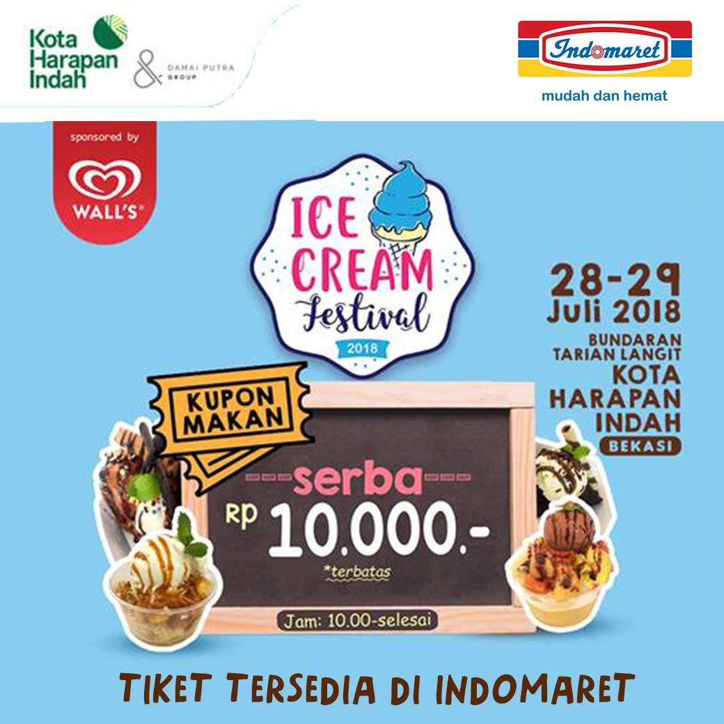 Indomaret - Promo Event Ice Cream Festival 2018