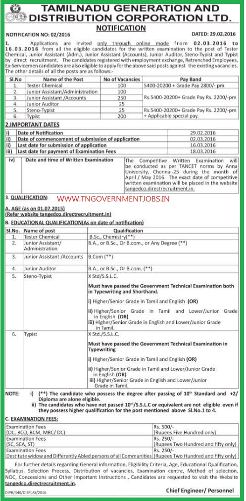 list of government jobs for mechanical engineers pdf