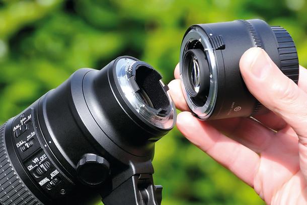 Extender, Alat Untuk Menambah Focal Length Lensa