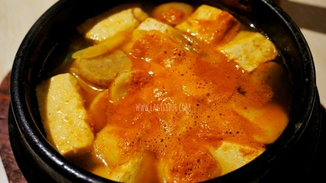 Dubu Jjigae Kimchi Korean Restaurant Solo