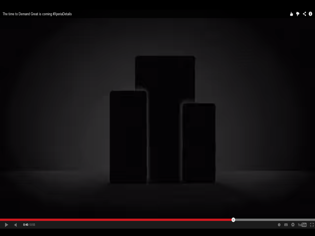 Sony's IFA 2014 Teaser Video. #XperiaDetails
