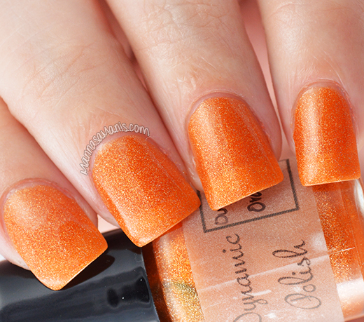 Dynamic Polish Outrageous Orange swatch