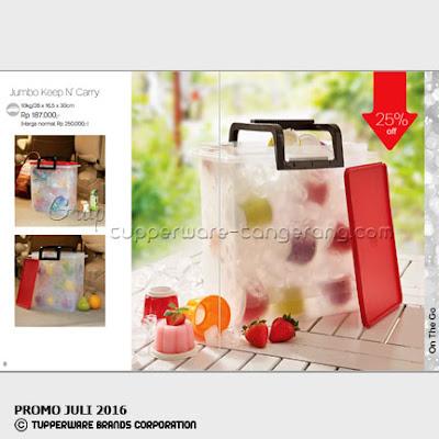 Jumbo Keep n Cary ~ Katalog Tupperware Promo Juli 2016