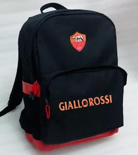 Jual Tas ransel punggung sekolah distro bola as roma