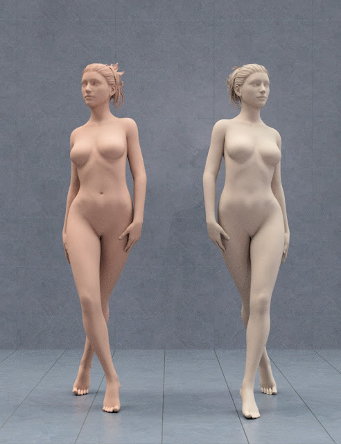 Well Heeled Poses for Genesis 3 and 8 Female