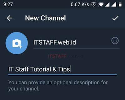 New Channel Des Telegram - ITSTAFF.web.id