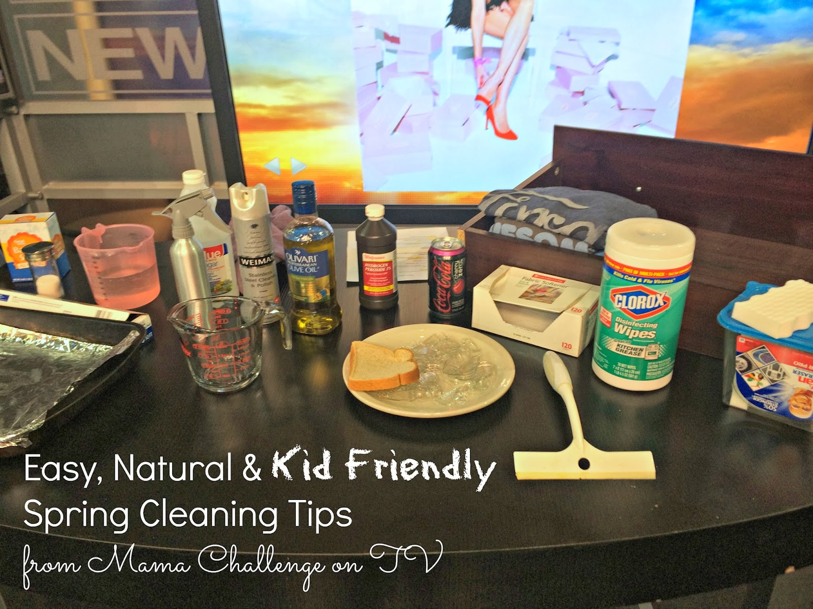 Easy Natural Spring Cleaning Tips From Mama Challenge On Tv