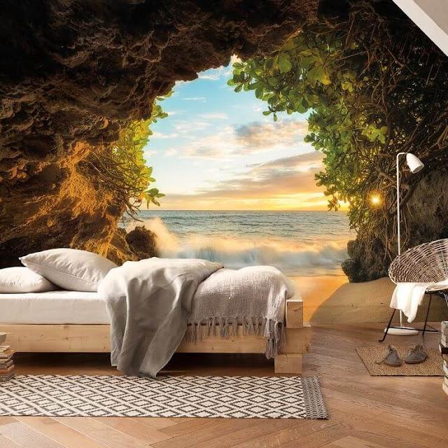 tranh tường phòng ngủ 3d rẻ đẹp bình dương