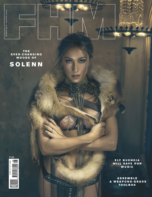 Solenn Heussaff FHM August 2016 Cover Girl