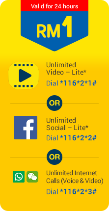 Digi Prepaid Offers Unlimited Daily Passes From RM1