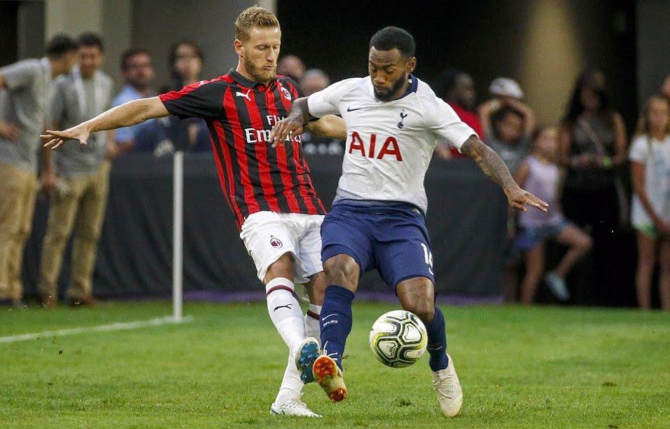 Milan-Tottenham Risultato deciso da N'Koudou | International Champions Cup.
