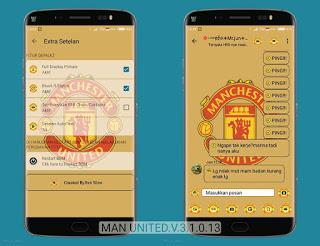 BBM MOD Manchester United v3.1.0.13 APK