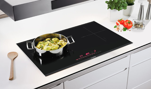 Bếp từ 2 bếp nấu Bosch PMI968MS nhập khẩu