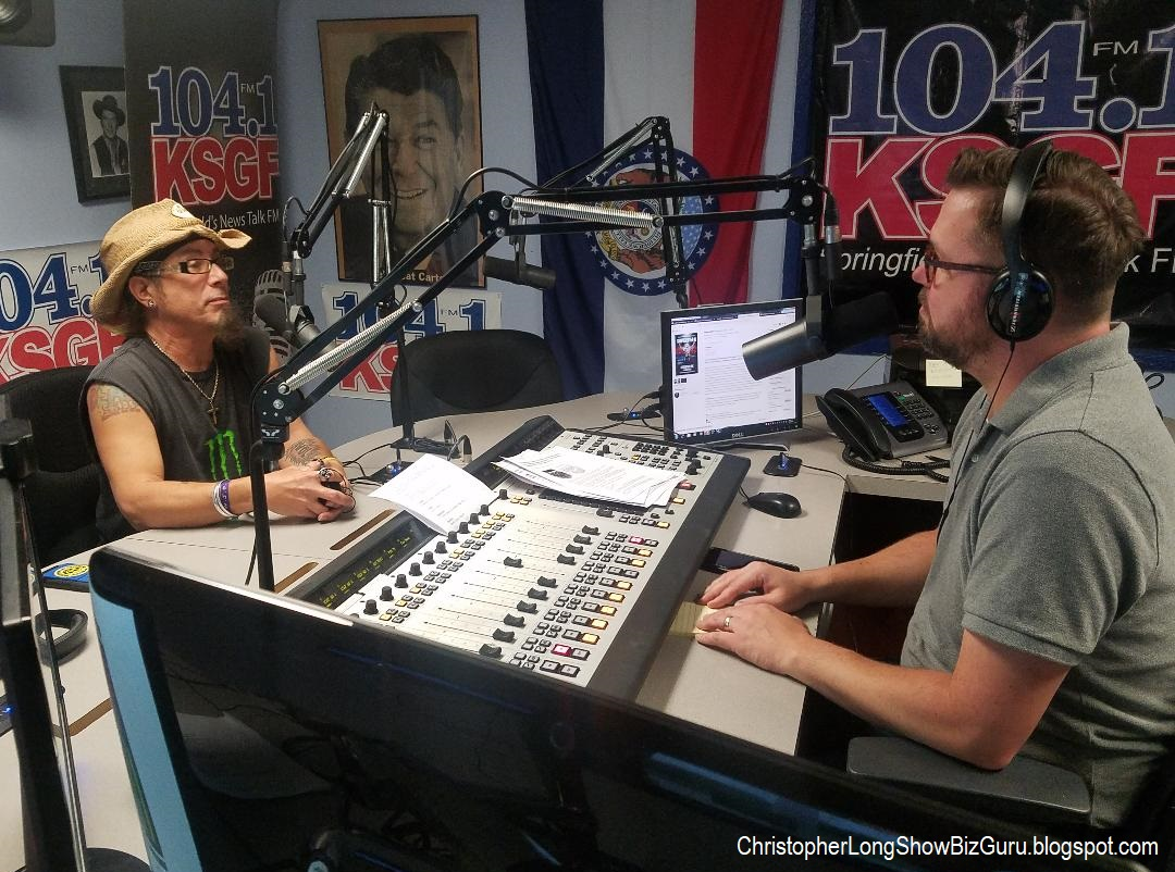 RADIO INTERVIEW w/ CHRISTOPHER LONG (KSGF FM)