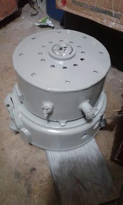 rear casing Paguro P4000 generator