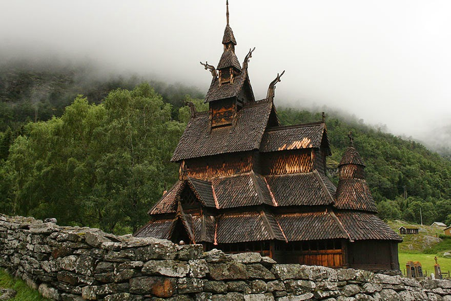 Borgund Stave Church - 23 Pictures Prove Why Norway Should Be Your Next Travel Destination