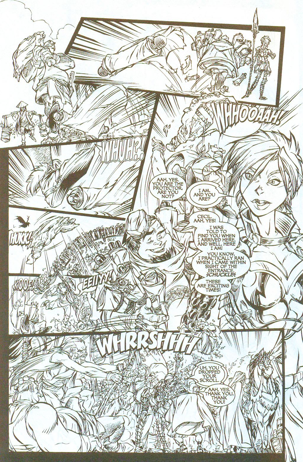 Read online Lady Pendragon / More Than Mortal comic -  Issue # _Preview - 4